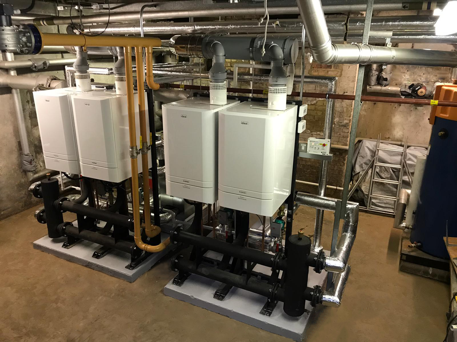 Replacement Boilers for Frances Barsdley Academy