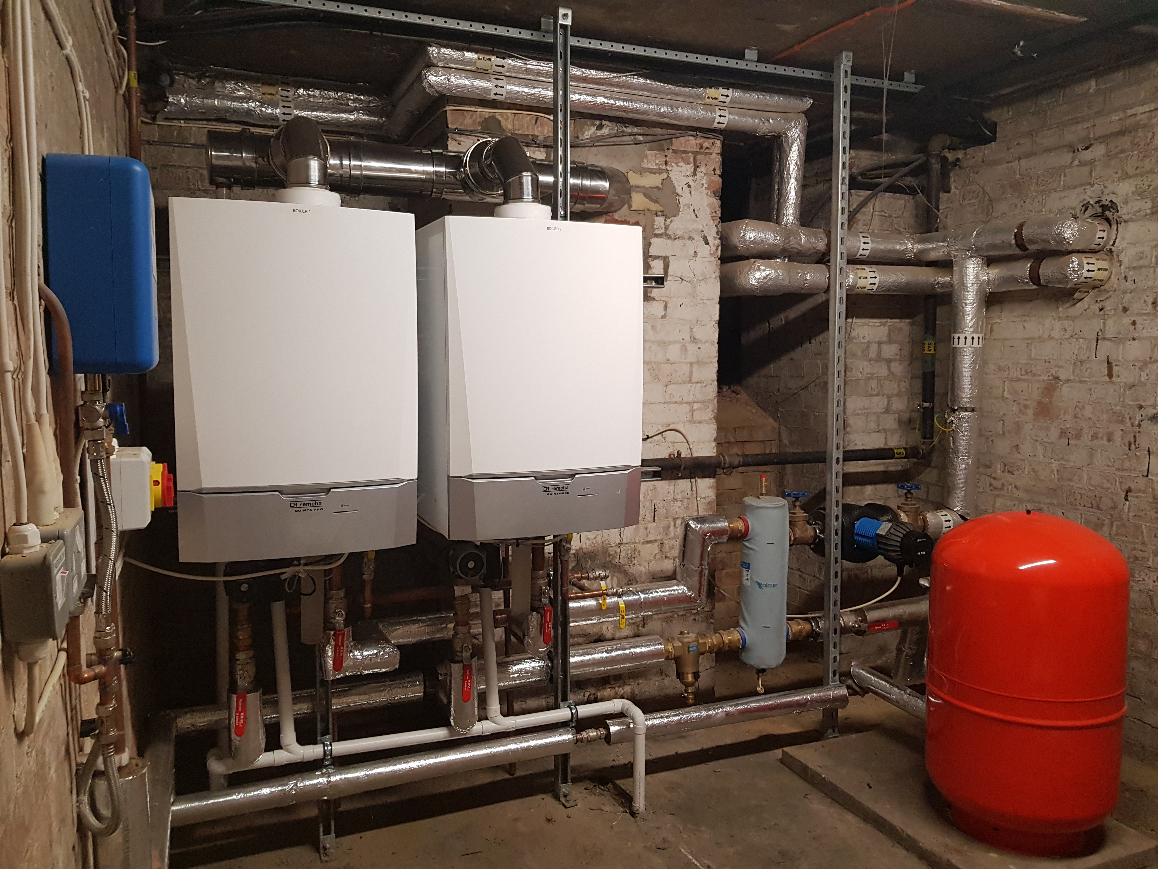 New Boilers for St Mary's Church Sanderstead