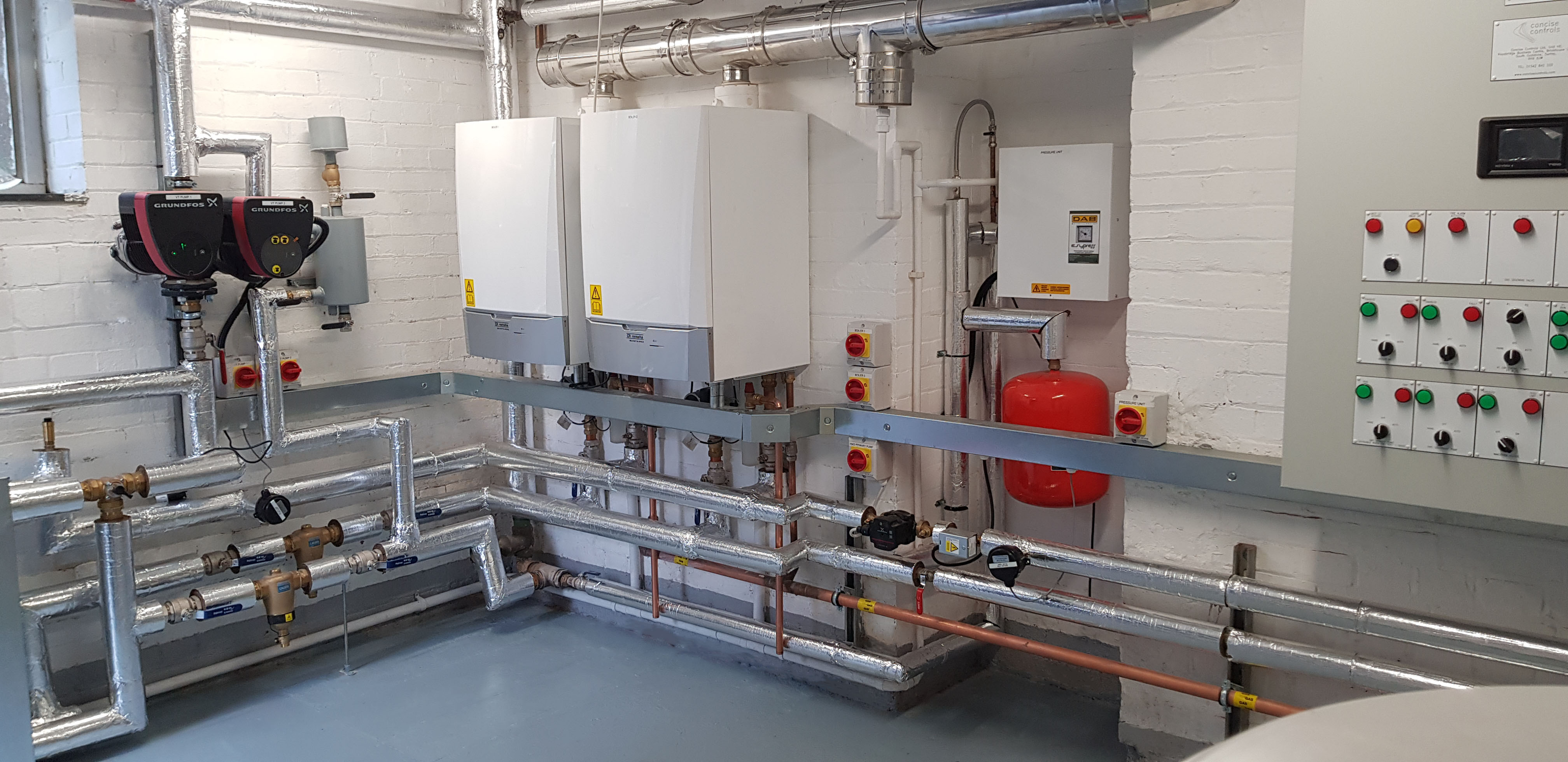 Plant Room Refurbishment for NHS Surrey and Borders Trust